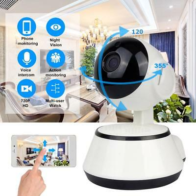 Baby Monitor Wireless Smart Camera Audio Video Record Surveillance Home Security