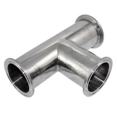 Stainless Steel Sanitary Fittings 3-Way Tee Ferrule Tri Clamp Casting Techniques