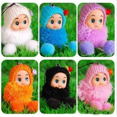 Plush Toy Dolls Key And Bag Chain Phone Hanging Decoration 2 Piece/Lot Toys Idea