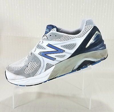 newest c6517 b4f6c NEW BALANCE 1540 Motion Control Running Shoes Men Size 10 6E White Blue  M1540WB1