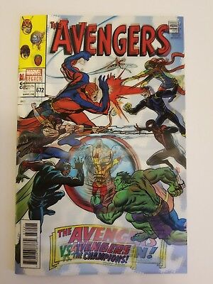 Avengers, The #672 (2017 Marvel) Mike Allred Lenticular Homage Variant Cover