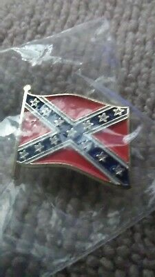 PIN REBEL PATRIOTIC HAT LAPEL FLAG New