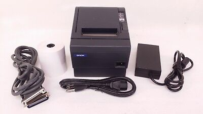 Epson Model M-129C TM-T88IIIP Printers With Epson PS-180 Power Cords