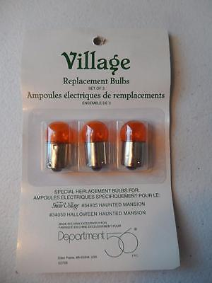 Department 56 Halloween Village Replacement Bulbs Haunted Mansion #52708