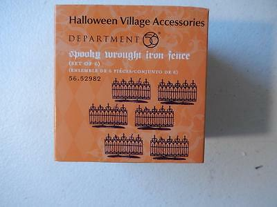 Department 56 (NEW) Spooky Wrought Iron Fence #56.52982