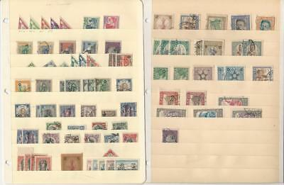Liberia Stamp Collection on 2 Stock Pages, Early Classics in Nice Condition