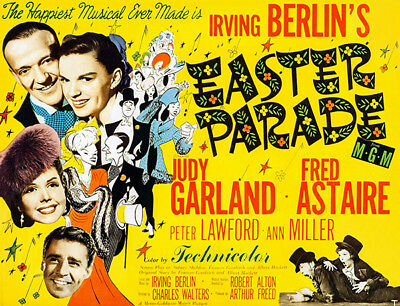 Easter Parade Movie Poster 24x36in #01