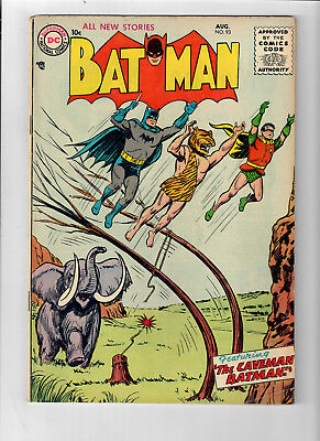 """BATMAN (V1) #93 - Grade 6.0 - Golden Age! """"Journey to the Top of the World!"""""""
