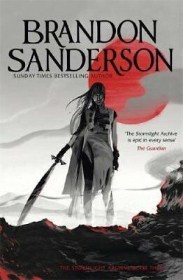 Oathbringer The Stormlight Archive Book Three by Brandon Sanderson 9781473226012