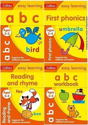 Easy Learning Reading Phonics Bundle For 3-5 Yr Olds Ks1