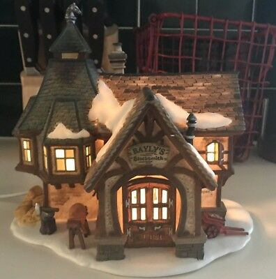 Dept 56 Dickens Village Series - Bayly's Blacksmith