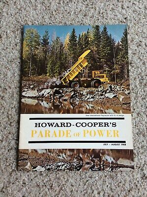 July-August 1968 Howard-coopers Parade of power construction magazine.