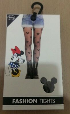 PRIMARK Ladies Mickey Minnie  LOGO Fashion Stocking Tights Pantyhose S/M,L/XL BN