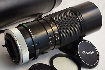Canon Zoom Lens FD 100-200mm f/5.6 S.C. - Tested EXC
