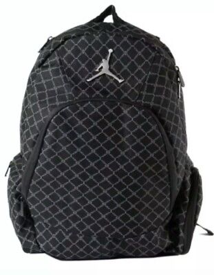 75ed19445b3d NIKE AIR JORDAN Jumpman 23 Backpack Laptop Sleeve Black 9A1115-023 NEW WITH  TAGS