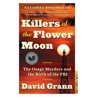 Killer Of The Flower Moon by David Grann  1 Minute Delivery[EB00K/PDF]