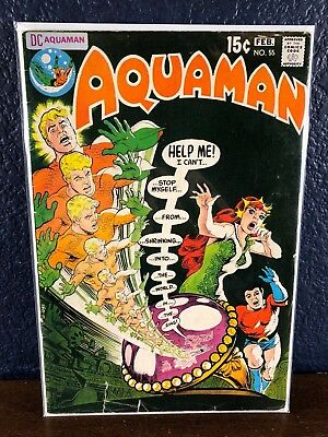 DC Comics AQUAMAN #55 1st Series Bronze-Age