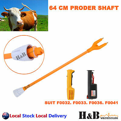 55cm Stock Cattle Prodder Shaft Flexible Polycarbonate Shaft Wand Replacement