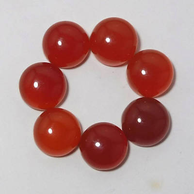 Big Sale !! 3mm To 10mm 100% Natural Red Onyx Round Cabochon loose Gemstone