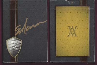 1 DECK Verve Shine Gold playing cards SIGNED by Erik Mana