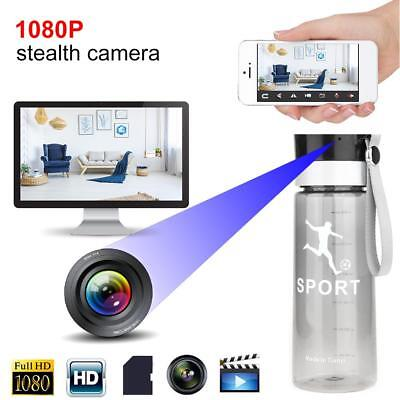 WiFi 1080P HD Sports Water Bottle Hidden Camera Video Recorder Nanny Camcorder