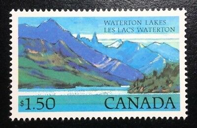 Canada #935 NF with Beacon MNH, Waterton Lakes Park Definitive Stamp 1982