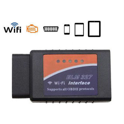 Scanner Elm327 Obd-Ii Wifi Obd2 Odb2 Diagnosi Motore Ios Android Iphone Ipad Zc