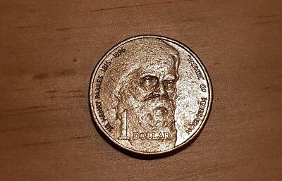 1996 One Dollar Coin Sir Henry Parks Commemorative Coin