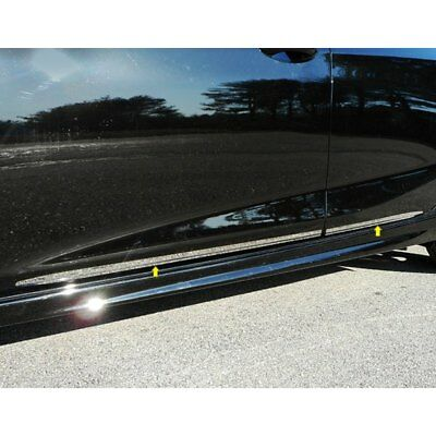 For Chevy Cruze 2017-2018 SAA I-Type Polished Body Side Moldings