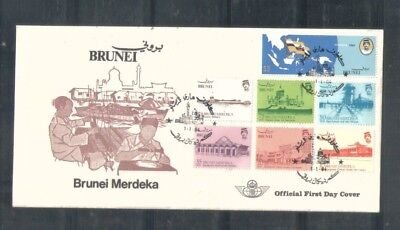 Brunei 1984 Independence, FDC
