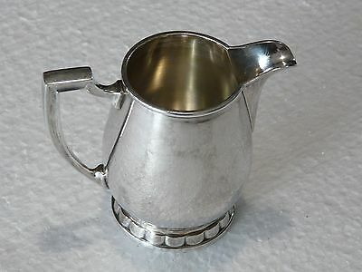 Rare Vintage CHRISTOFLE FRANCE Silverplate Milk/Cream Pitcher 40's