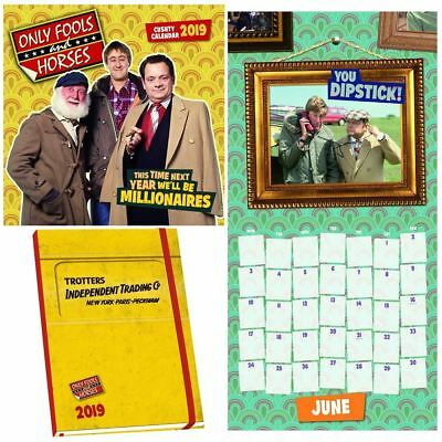 Official 2019 Only Fools and Horses Calendar Diary Bundle Pack Gift Present TV