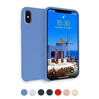 Coque TPU Silicone Apple iPhone X 10 Soft Toucher Housse Case Cover