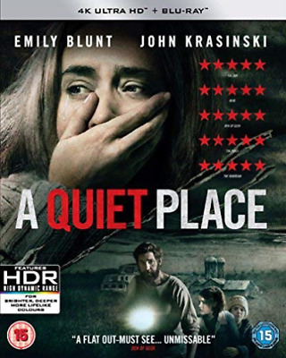 Quiet Place (4Kuhd + Bd) BLU-RAY NEW