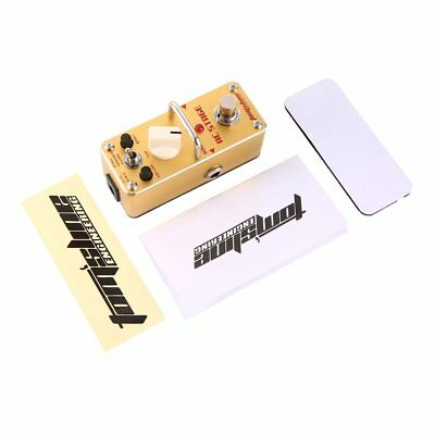 Aroma AAS-3 AC Stage Acoustic Guitar Simulator Electric Guitar Effect Pedal NI