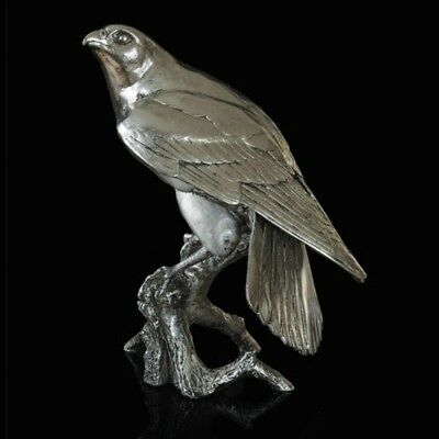 Falcon Nickel Plated Resin Richard Cooper Studio Michael Simpson (303NP)