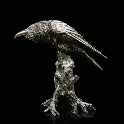 Raven Nickel Plated Resin Richard Cooper Studio Paul Szeiler (318NP)