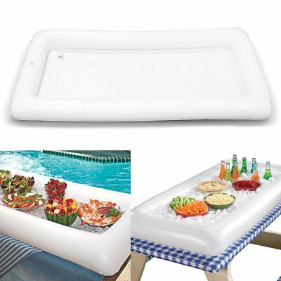 Inflatable Serving Bar Salad Buffet Ice Tray Picnic Drink Table for Party TF
