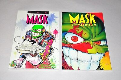The Mask + Returns TPB Lot Dark Horse 1993 1994 1st Print NM Arcudi Mahnke