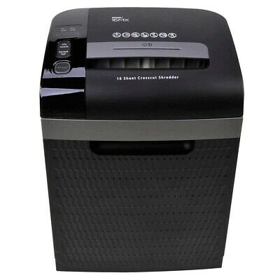ROYAL 16 Sheet Commercial Cross Cut Paper Shredder 16MX