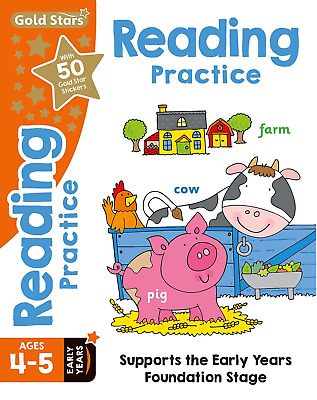 Reading Practise Age 4-5 Early Years Reception  Educational Activity Book New Pb