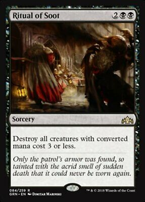Ritual of Soot -GRN Guilds of Ravnica MtG