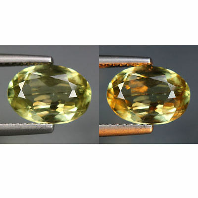 2.39 Cts_World Class Rarest Gemmy!!!_100 % Natural Color Change Diaspore_Turkey