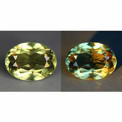 2.33 Cts_World Class Rarest Gemmy!!!_100 % Natural Color Change Diaspore_Turkey