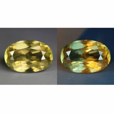 2.29 Cts_World Class Rarest Gemmy!!!_100 % Natural Color Change Diaspore_Turkey