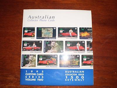 Australian Phonecards In Pack Series Two With Spies Heckler Cars Stamp Etc