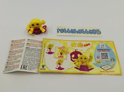 Se787 A Emojoy - Timbro + Bpz Kinder Merendero Italia 2018 Emoji Collection