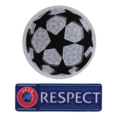 Patch UEFA Ucl Champions League Respect Original Authentic Star Ball 2017/18