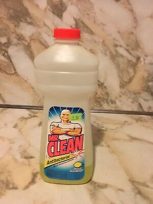 Vintage 1999 Mr. Clean Procter & Gamble Household Cleaner Advertising Bottle