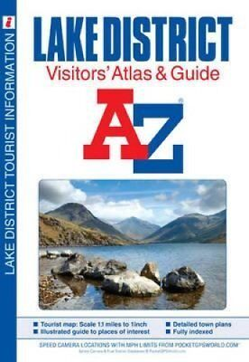 Lake District Visitors' Atlas by Geographers' A-Z Map Company 9781843487043